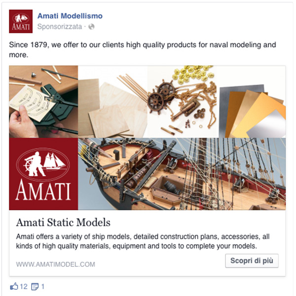 Marketing Amati Modellismo