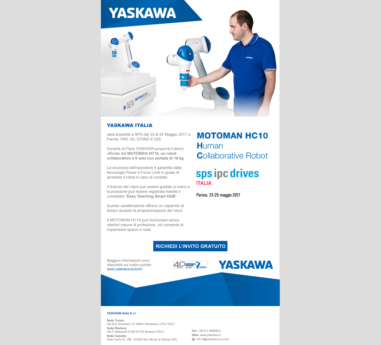 Marketing Yaskawa
